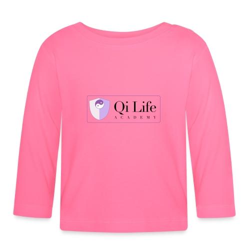 Qi Life Academy Promo Gear - Baby Long Sleeve T-Shirt