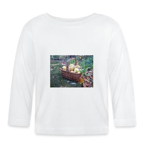 Quitten-Korb - Baby Langarmshirt