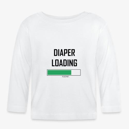 Ladda blöjan - Långärmad T-shirt baby