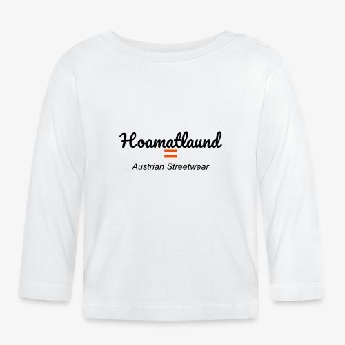 hoamatlaund austrain Streetwear - Baby Langarmshirt