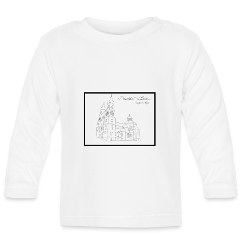 T Shirt Basilika St Lorenz Kempten Allgaeu - Baby Langarmshirt