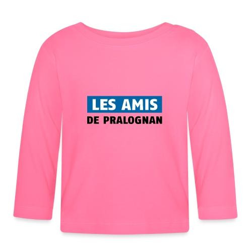 les amis de pralognan texte - T-shirt manches longues Bébé