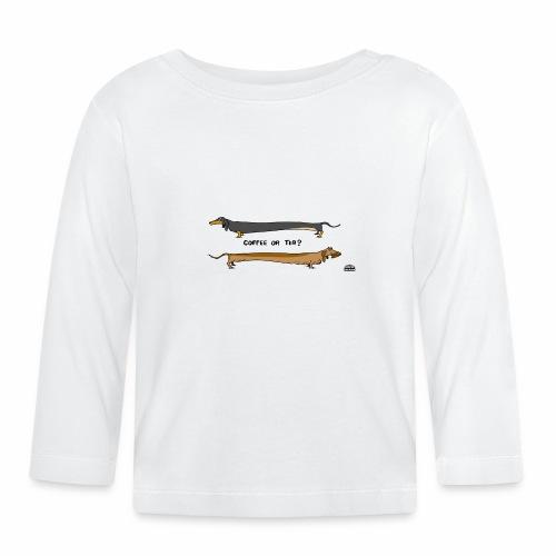 Coffee&Tea - Koszulka niemowlęca z długim rękawem