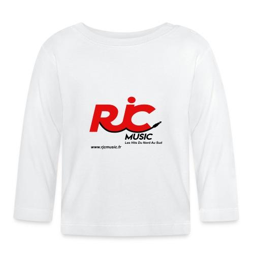 RJC Music avec site - T-shirt manches longues Bébé