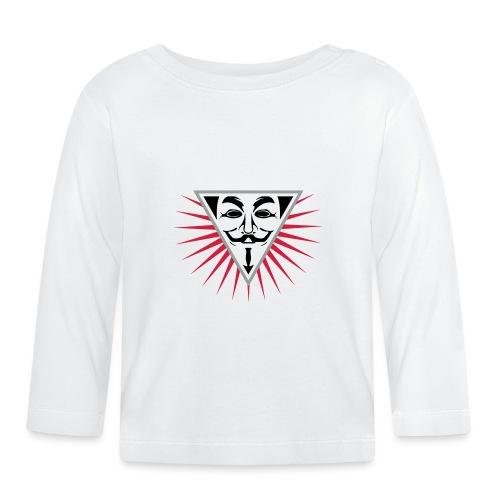 Anonymous NWO logo 3c - T-shirt manches longues Bébé