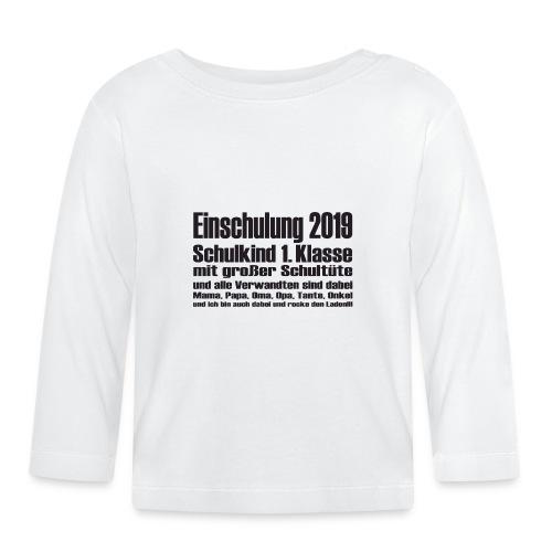 Einschulung-2019 - Baby Langarmshirt