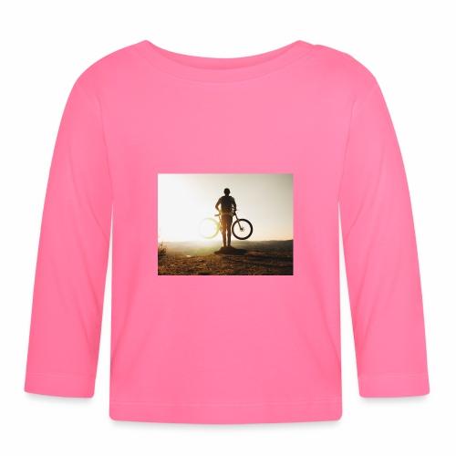 Mountain bike - Långärmad T-shirt baby