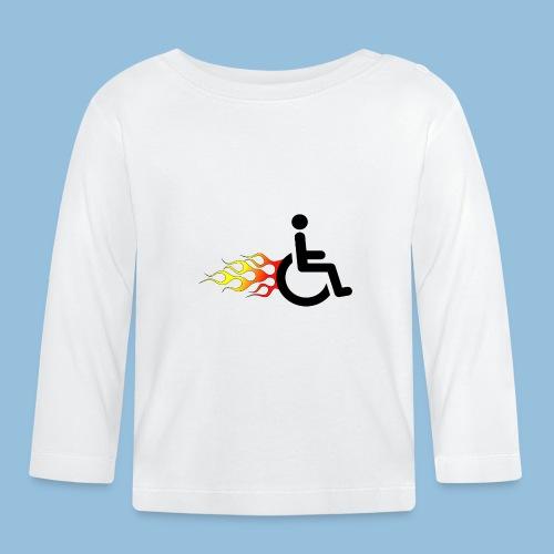 Roller met vlammen 009 - T-shirt