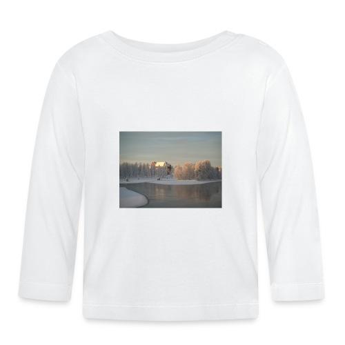 Talvinen Joensuu - Vauvan pitkähihainen paita