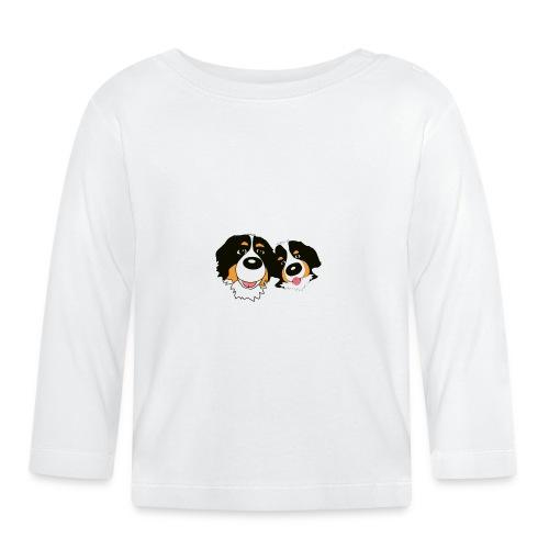 hane och hona - Långärmad T-shirt baby