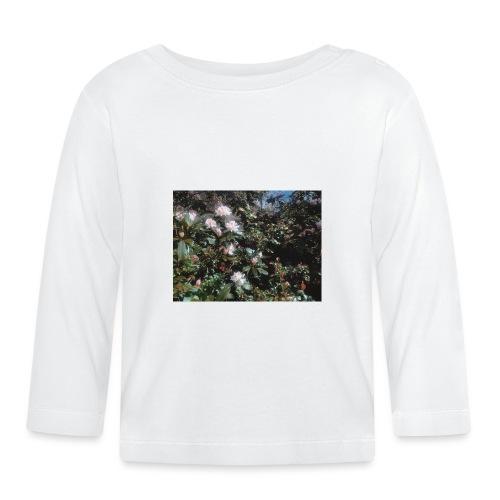 Vackra blommor - Långärmad T-shirt baby
