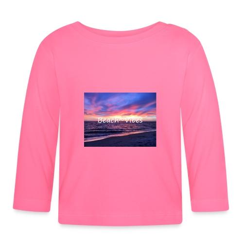 Beach Vibes - Långärmad T-shirt baby