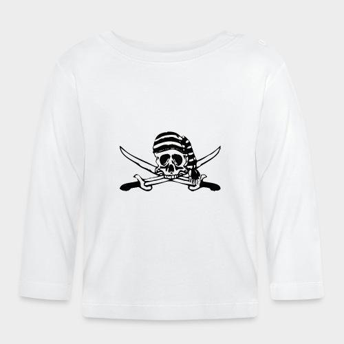 CALAVERA PIRATA - Camiseta manga larga bebé