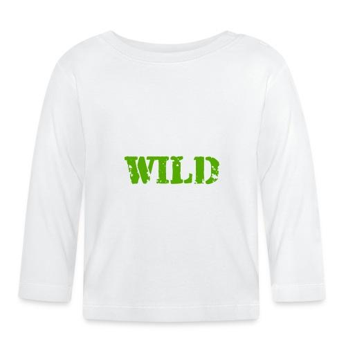 wild - Maglietta a manica lunga per bambini