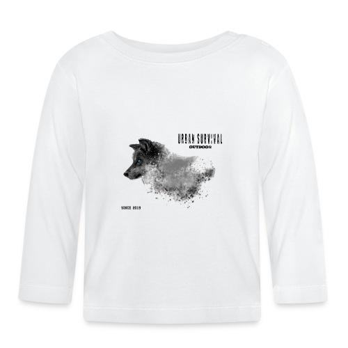 dog black - Baby Langarmshirt