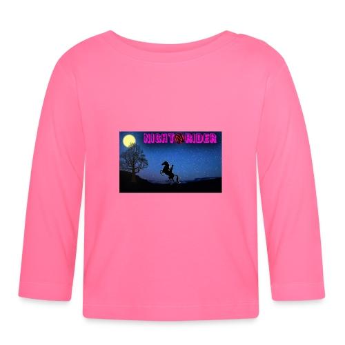 nightrider merch - Langærmet babyshirt