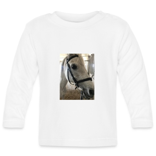 9AF36D46 95C1 4E6C 8DAC 5943A5A0879D - Langarmet baby-T-skjorte