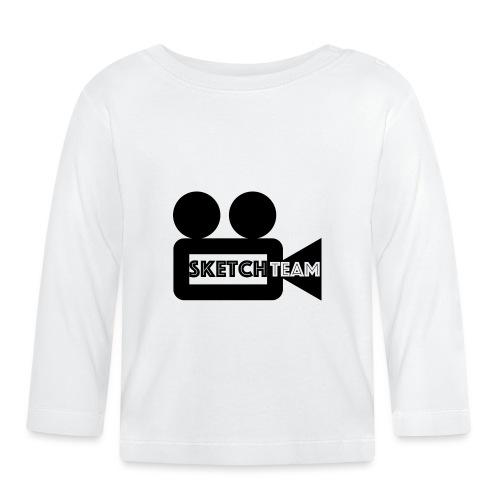 SketchTeam Logga T-shirt - Långärmad T-shirt baby