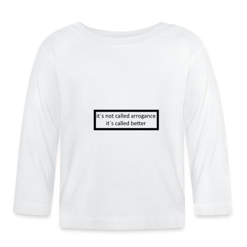 K.E.C original t-shirt - Langærmet babyshirt