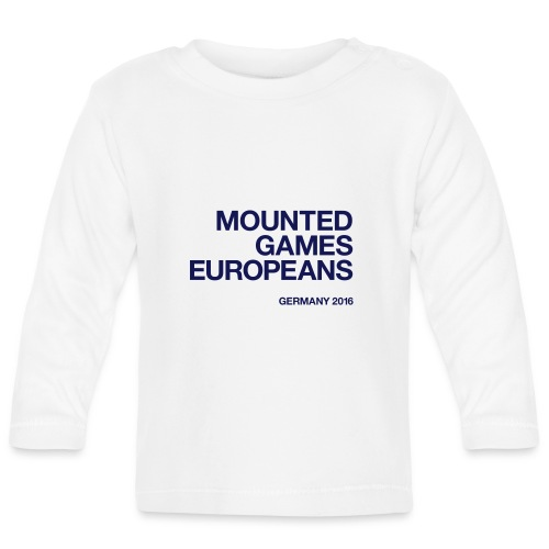 Mounted Games Europeans Hoodie - Baby Langarmshirt