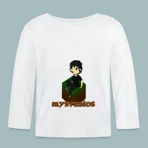 Mystudios Ansteck Button - Baby Langarmshirt