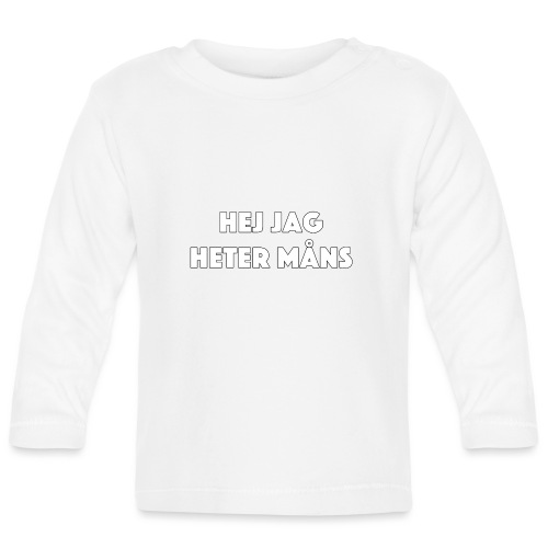 HEJ JAG HETER MÅNS - Långärmad T-shirt baby