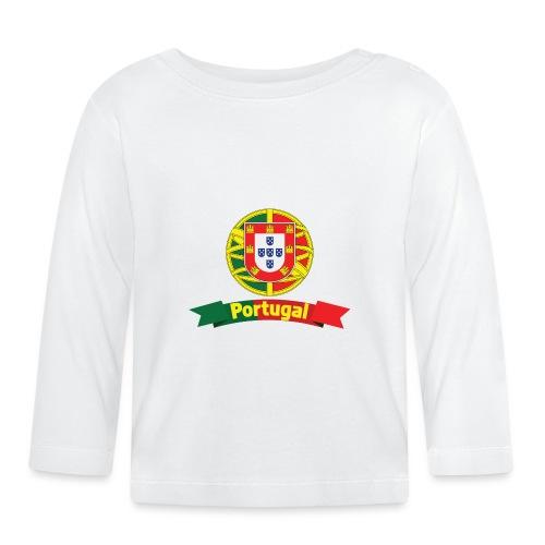 Portugal Campeão Europeu Camisolas de Futebol - Baby Long Sleeve T-Shirt