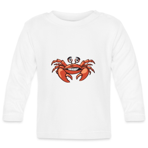 Cangrejo - Camiseta manga larga bebé