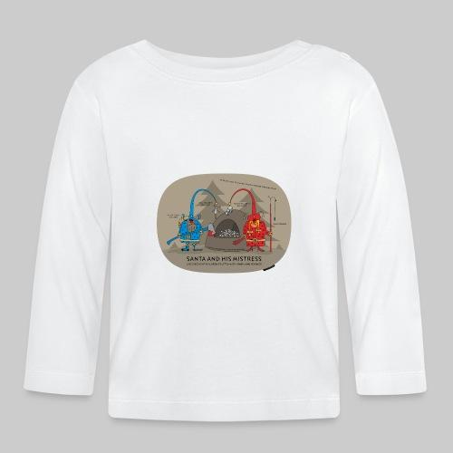 VJocys Santa Blue - Baby Long Sleeve T-Shirt