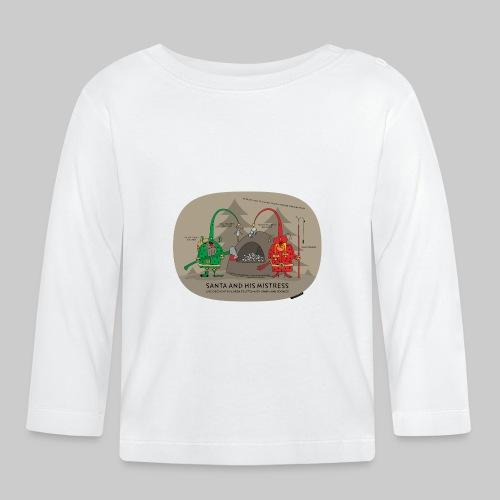 VJocys Santa Green - Baby Long Sleeve T-Shirt