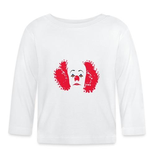 Il male pagliaccio IT - Maglietta a manica lunga per bambini