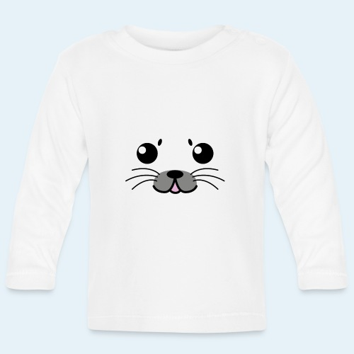 Foca bebé (Cachorros) - Camiseta manga larga bebé