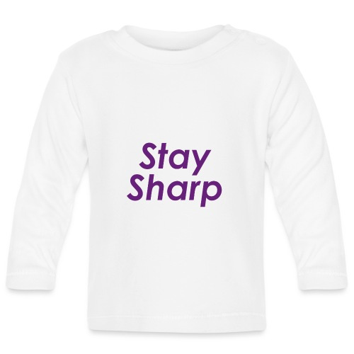 Stay Sharp - Maglietta a manica lunga per bambini