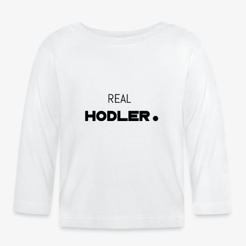 HODL-real-b - Baby Long Sleeve T-Shirt