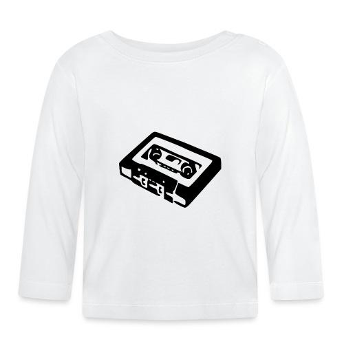 Retro-Kassette - Baby Langarmshirt