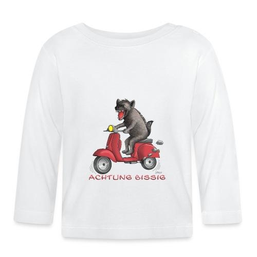 Hyäne - Achtung bissig - Baby Langarmshirt