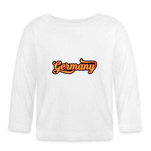 Typo Country Germany - Baby Langarmshirt