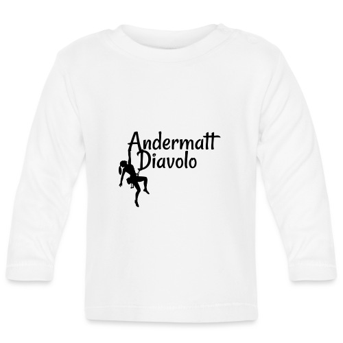 Andermatt Diavolo Uri Geschenkidee - Baby Langarmshirt
