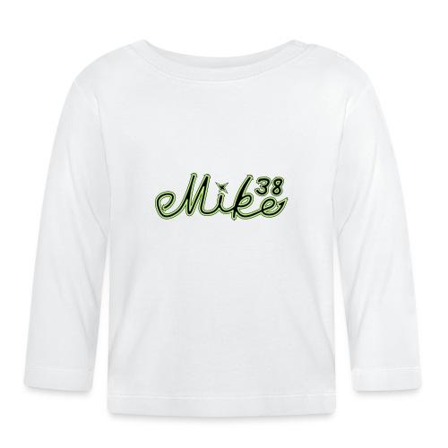 mike38teksti - Vauvan pitkähihainen paita