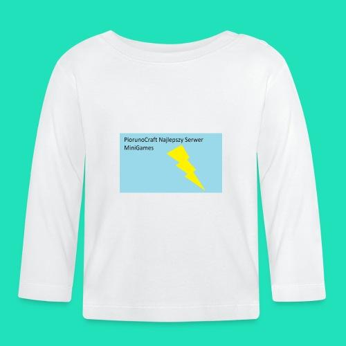 Koszulka Dla Dzieci PiorunoCraft - Koszulka niemowlęca z długim rękawem