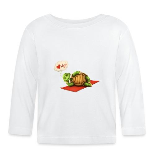 Love-Yoga Turtle - Baby Langarmshirt