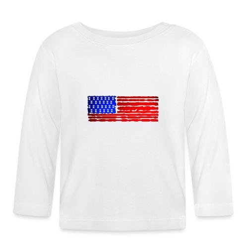 USA FLAG WATCH MATCH STYLE - Maglietta a manica lunga per bambini