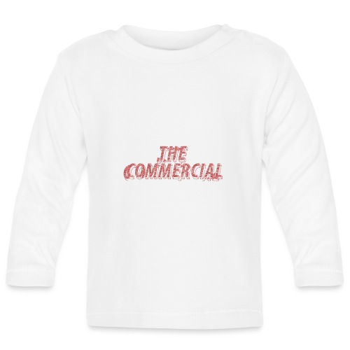 The Commercial #2 (Salmon Long Strokes) - Baby Long Sleeve T-Shirt