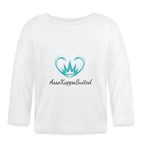 AssoKappaSuited - Maglietta a manica lunga per bambini