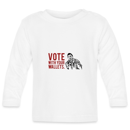 VOTE. - Baby Long Sleeve T-Shirt