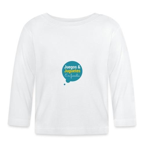 Logo Juegos y Juguetes en Familia - Camiseta manga larga bebé
