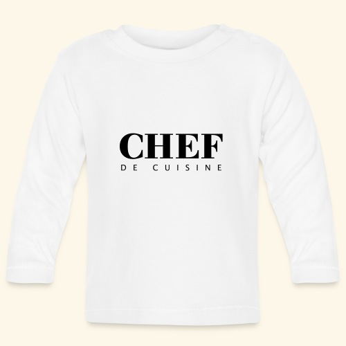 BOSS de cuisine - logotype - Baby Long Sleeve T-Shirt