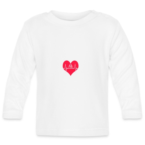 I love my Bike - Baby Long Sleeve T-Shirt