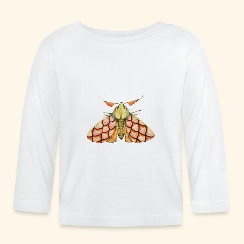 Falena rosa - Maglietta a manica lunga per bambini