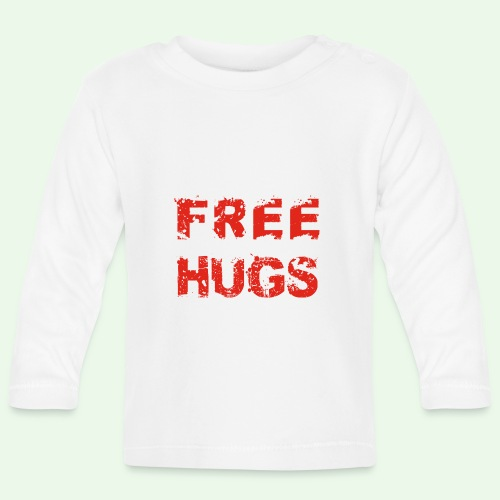 Free Hugs // Flirten // T-Shirt - Baby Langarmshirt